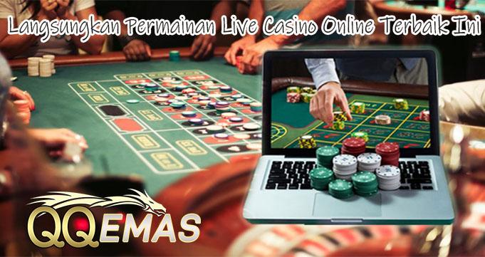 Langsungkan Permainan Live Casino Online Terbaik Ini